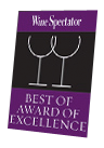 WS BEST AWARD OF                   EXELLENCE